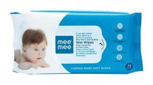 Mee Mee Baby Gentle Wet Wipes Review