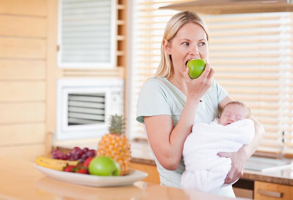 Breastfeeding Diet for New Moms