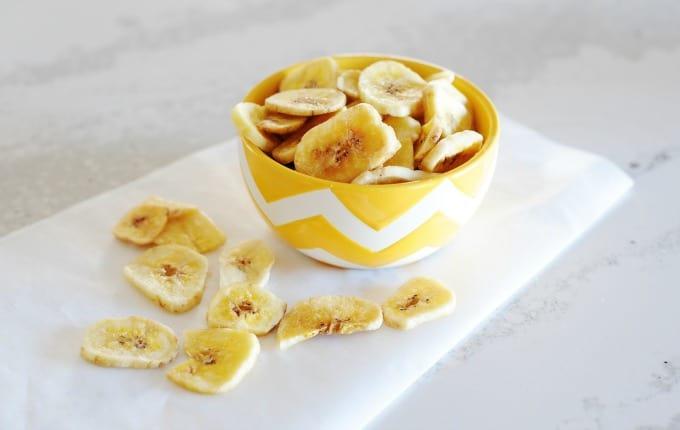 Crunchy Baked Bananas