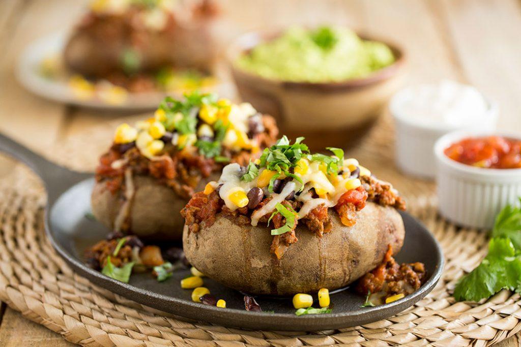 Loaded Baked Potatoes