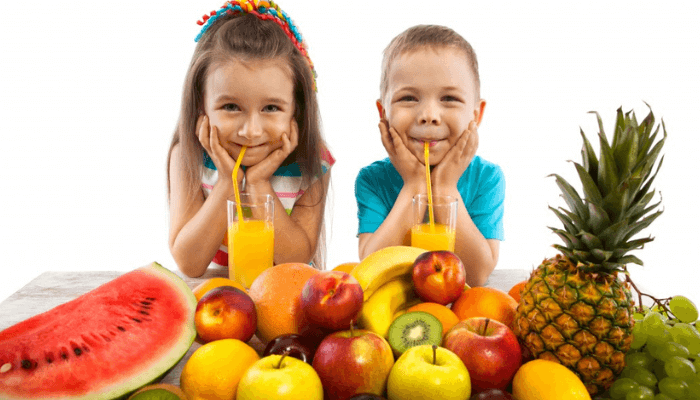 healthy fruits for kids